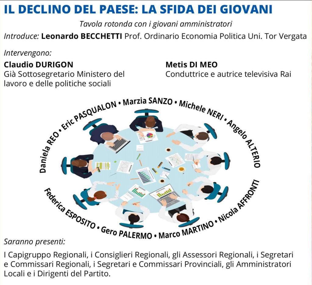 Festa Nazionale Udc Italia a Fiuggi – La Sfida dei Giovani