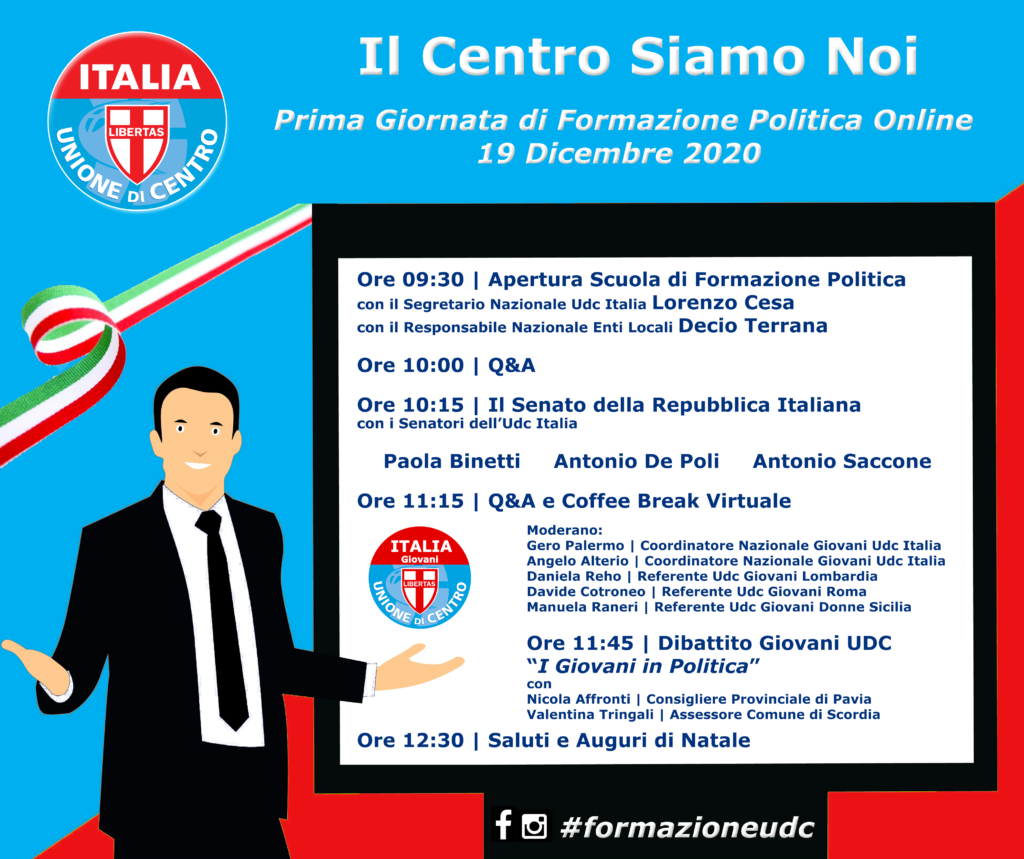 Formazione Udc Italia